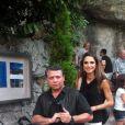 Rania de Jordanie et le roi Abdullah sur leur moto