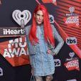 Jeffree Star à la soirée iHeartRadio Music awards à Inglewood, le 5 mars 2017