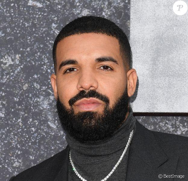 """Le rappeur Drake à la première de la série Netflix """"Top Boy"""" au cinéma Hackney Picturehouse à Londres, Royaume Uni, le 4 septembre 2019."""