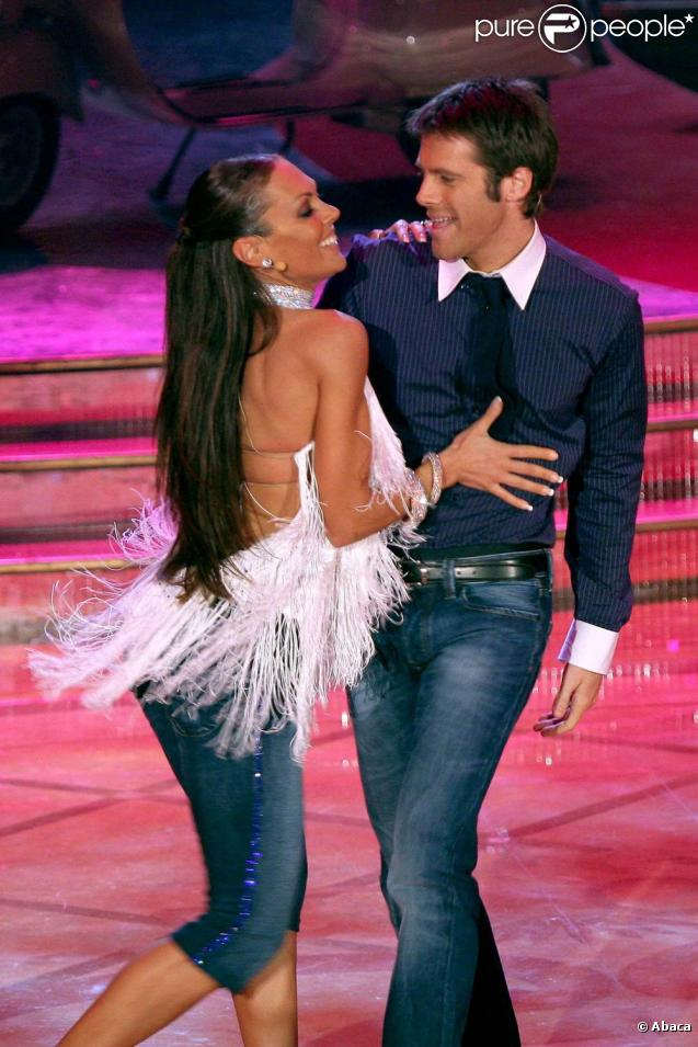 Emmanuel Philibert de Savoie et sa partenaire de  Dancing with the Stars