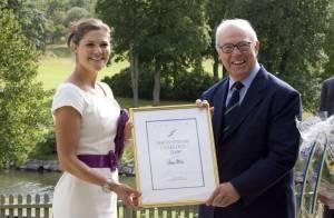 La princesse Victoria s'est faite royalement élégante... pour le Suédois de l'année !