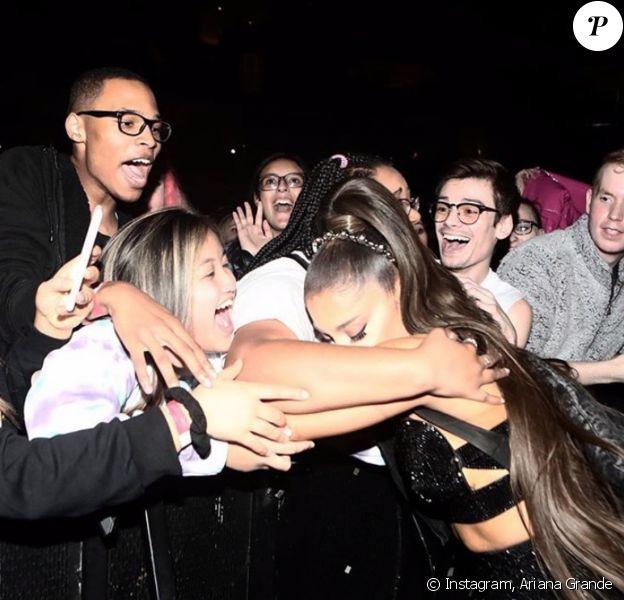 Ariana Grande. Décembre 2019.