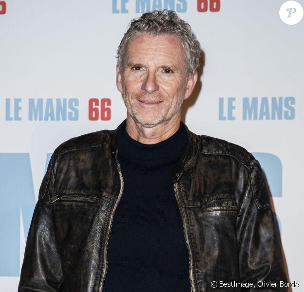 """Denis Brogniart à l'avant-première du film """" Le Mans"""" au cinéma Gaumont Champs-Élysées à Paris, France, le 6 octobre 2019. © Olivier Borde/Bestimage"""