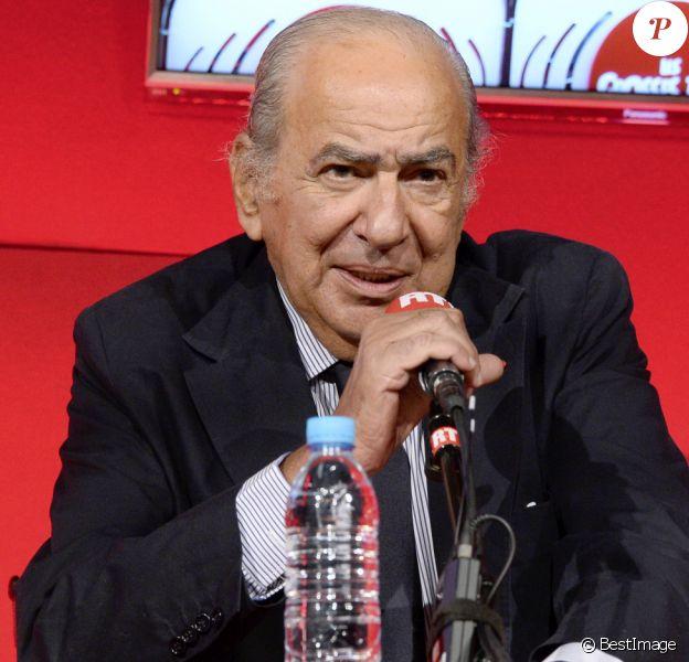 Pierre Benichou - Conférence de rentrée de RTL à Paris. Le 4 septembre 2014.