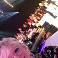Laurence Boccolini sur le plateau du Grand Concours des animateurs de TF1, janvier 2020
