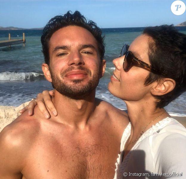 Fanny Leeb et son compagnon Oliver sur Instagram le 4 décembre 2019.