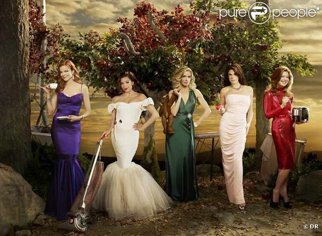 Photo promo de la 6e saison de Desperate Housewives
