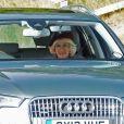 Le prince Charles et Camilla Parker Bowles, duchesse de Cornouailles non loin de leur demeure de Birkhall, en Ecosse - La famille royale d'Angleterre sur le chemin de la messe dominicale à Ballater. Le 15 septembre 2013