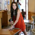 Miley Cyrus à Los Angeles (22 août 2009)