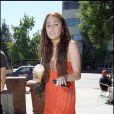 Miley Cyrus à L.A (23 août 2009)