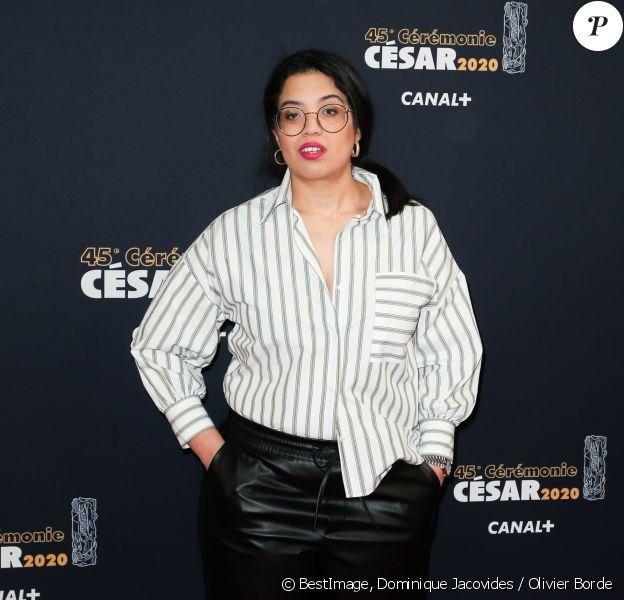 Melha Bedia lors du photocall lors de la 45ème cérémonie des César à la salle Pleyel à Paris le 28 février 2020 © Dominique Jacovides / Olivier Borde / Bestimage