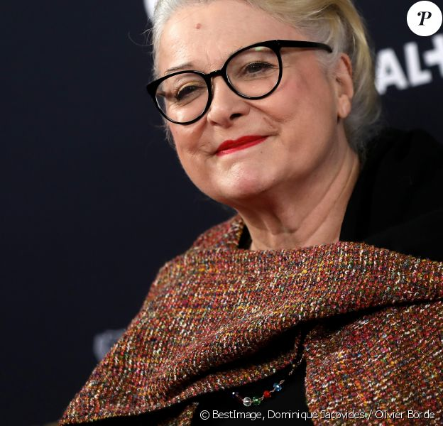 Josiane Balasko lors du photocall lors de la 45e cérémonie des César à la salle Pleyel à Paris le 28 février 2020 © Dominique Jacovides / Olivier Borde / Bestimage