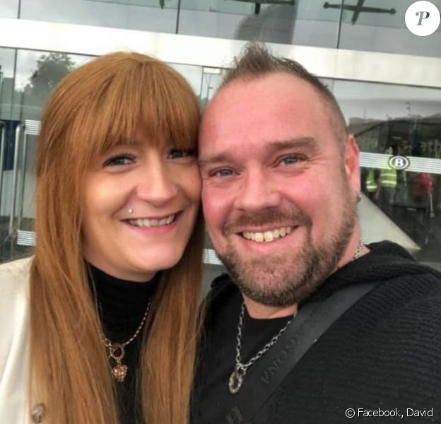 """David et Sandrine de """"4 Mariages pour 1 lune de miel"""", sur Facebook, photo postée le 20 mars 2020"""