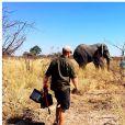 Le prince Harry et Meghan Markle au Botswana à l'été 2017.