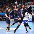 Luka Karabatic lors du match de Ligue des Champions de handball opposant le Paris Saint-Germain au SC Pick Szeged au stade Coubertin à Paris, France, le 22 septembre 2019. © Kevin Domas/Panoramic/Bestimage