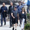Exclusif - Tom Hanks et sa femme Rita Wilson à Sydney le 6 mars 2020.