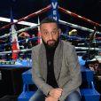 Info - Cyril Hanouna est célibataire, sa compagne Emilie l'a quitté - Cyril Hanouna lors du gala de boxe Univent à l'AccorHotels Arena de Paris pour le championnat du monde WBA le 15 novembre 2019. © Veeren / Bestimage