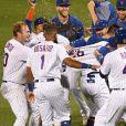 Jennifer Lopez et son fiancé Alex Rodriguez envisageraient d'acheter l'équipe de baseball des New York Mets. Septembre 2019.