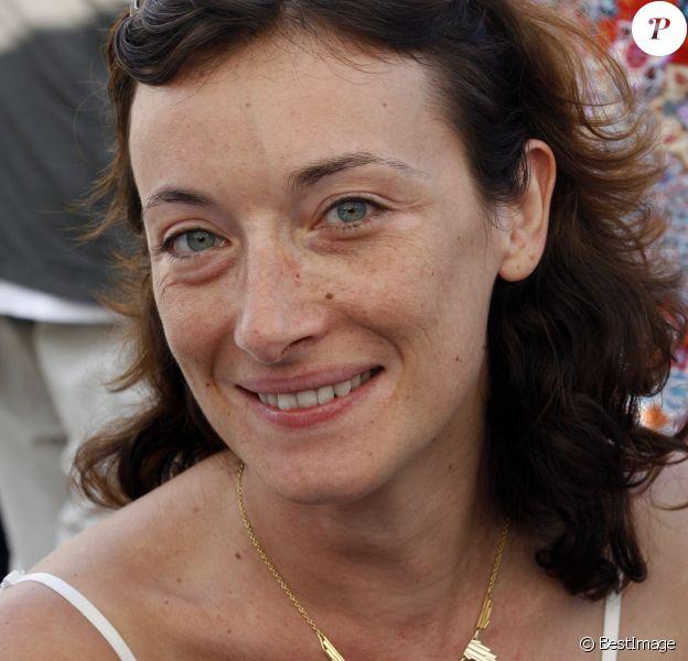"""Delphine Serina lors du Festival """"Les Hérault de la Télé 2009"""" au Cap d'Agde, le 26 octobre 2009."""