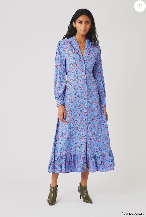 La robe Ghost de Kate Middleton, portée le 23 avril 2020.