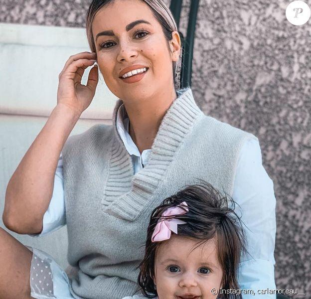 Carla Moreau avec Ruby, le 28 mars 2020
