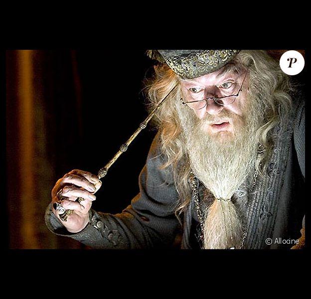 """Michael Gambon dans le film """"Harry Potter et la coupe de feu"""". 2005."""