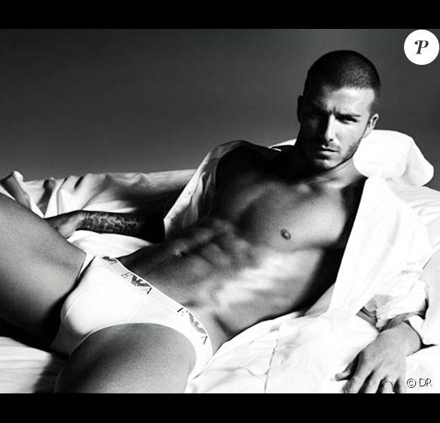 Les slips de David Beckham se vendent comme des petits pains....