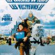 """Christian Clavier et Jean Reno dans le film """"Les couloirs du temps : Les Visiteurs 2"""". 1998."""