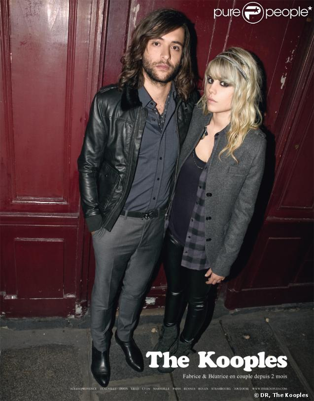 Fabrice, des Naive New Beaters et Coeur de pirate posent pour The Kooples