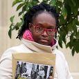 Sibeth N'Diaye lors de la sortie du conseil des ministres du 30 octobre 2018, au palais de l'Elysée à Paris. © Stéphane Lemouton / Bestimage