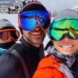 Justin Timberlake, son épouse Jessica Biel et leurs fils Silas (5 ans), sur Instagram, le 10 mai 2020.