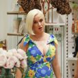 Katy Perry, enceinte à Melbourne, en Australie. Le 9 mars 2020.