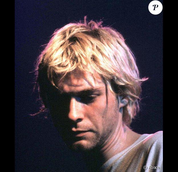 Kurt Cobain en concert au Zenith de Paris en 1992