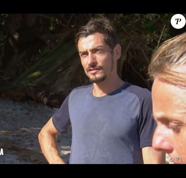 """Claude dans l'épisode de """"Koh-Lanta 2020"""" du 15 mai 2020, sur TF1"""