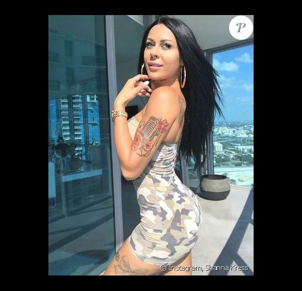 Shanna Kress à Miami - Instagram, 30 avril 2018