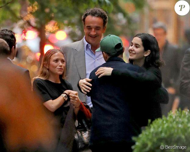 Exclusif - Margot, la fille de Olivier Sarkozy - Olivier Sarkozy - Les soeurs Mary-Kate et Ashley Olsen fêtent leur anniversaire (33 ans) à New York le 13 juin 2019.
