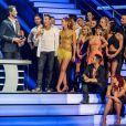 """Exclusif - Prix Spécial - Vincent Cerutti, Gérard Vives, Fauve Hautot - Tournée """"Danse avec les stars"""" au Zénith de Lille, le 16 janvier 2015.  No web/No blog pour Belgique/Suisse.16/01/2015 - Lille"""