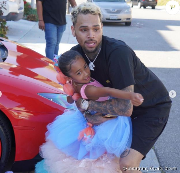 Royalty, la fille de Chris Brown et Nia Guzman, a fêté ses 6 ans. Le 27 mai 2020.