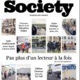 """Couverture du nouveau numéro du magazine """"Society"""" paru le 28 mai 2020"""
