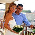 Milan Baros et sa femme Tereza sont les parents d'un bébé nommé Patrik