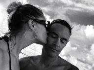 Anthony Delon : Baiser romantique et coucher de soleil avec sa fiancée Sveva