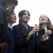 Camélia Jordana chante un gospel pour George Floyd, Audrey Pulvar prend le micro