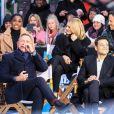 Daniel Craig, Rami Malek, Lashana Lynch, Léa Seydoux - Les acteurs du nouveau James Bond 'No Time To Die' dans les studios de l'émission 'Good Morning America' à New York, le 4 décembre 2019.