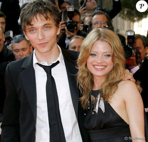 Raphaël et Mélanie Thierry au Festival de Cannes en 2007.