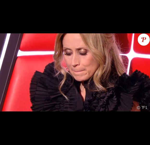 """Lara Fabian lors des auditions à l'aveugle de l'émission """"The Voice"""" du samedi 15 février 2020 - TF1."""