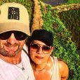 """Pascal de """"Koh-Lanta"""" avec sa femme, photo Instagram du janvier 2020"""