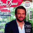 """Samuel Le Bihan dans le magazine """"Nous Deux"""" du 16 juin 2020."""