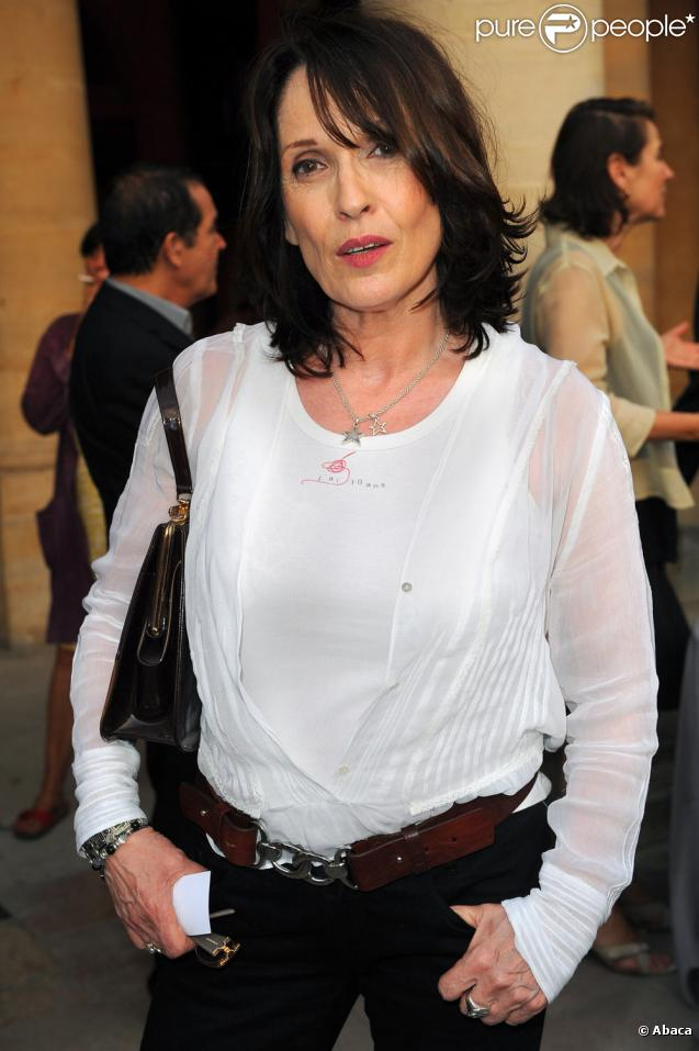 Chantal Lauby en tournage pour France 2
