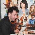 """Michael Youn lors de l'avant-première du film """"Lucky"""" au cinéma Max Linder Panorama à Paris, France, le 25 février 2020. © Coadic Guirec/Bestimage"""