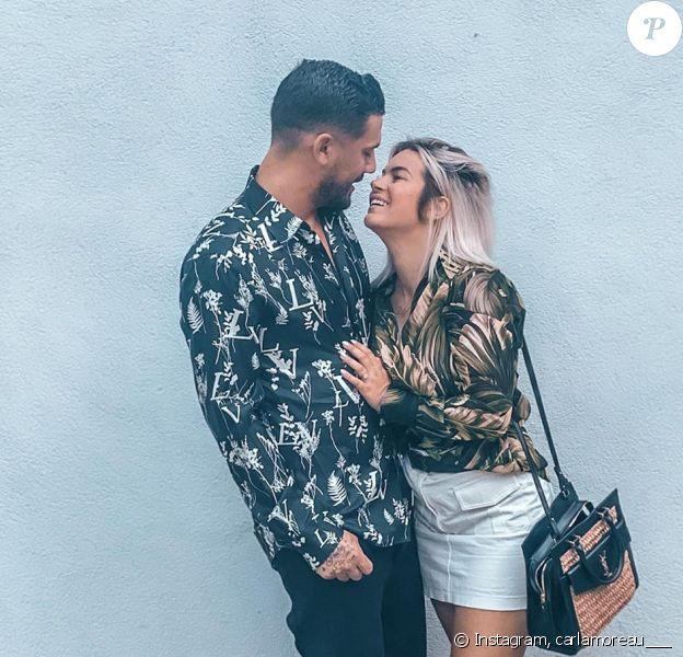 Carla Moreau et Kevin Guedj amoureux sur Instagram, le 21 juin 2020